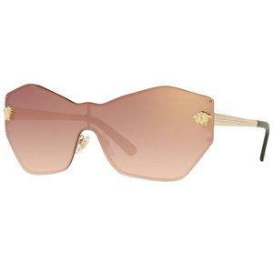 Versace Shield Style Pink Mirrored/Gradient Lens.